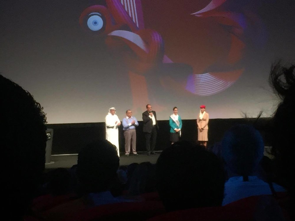 فريق العمل قبل عرض الفيلم