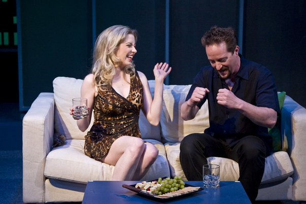 """Annie Abrams and Danny Blinkoff in """"The Scene"""""""