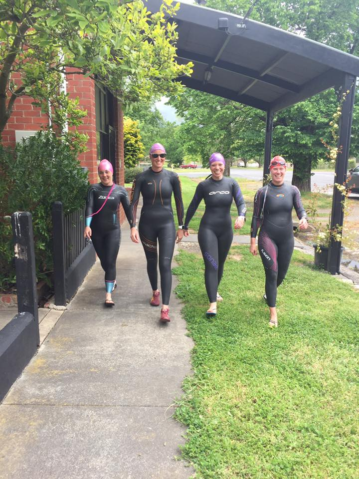 Coach was mortified when these four started walking down the streets of Ballarat like this! :)