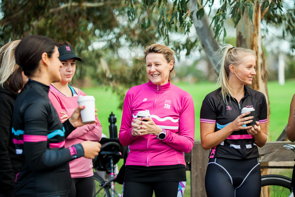 Beginner 8 Week Course - Train for your first triathlon with a great bunch of women and complete your first Tri together as a group! From Couch to Triathlete in 8 weeks! To see upcoming course dates CLICK HERE