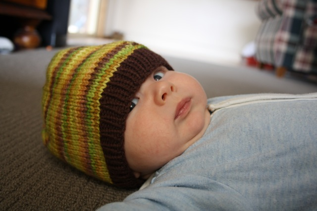 First and foremost, young Patrick Matthew (aka Paddymoo) in his cool beanie (kangaroo paw and ironstone)
