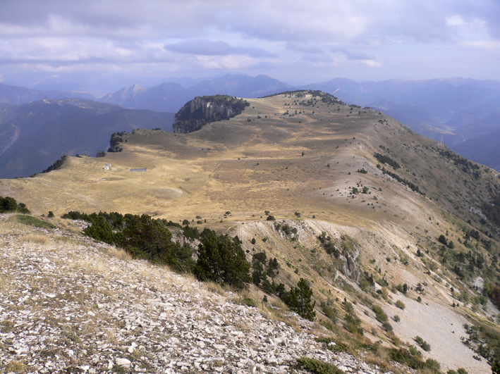 Vercors mountain range in southern central France