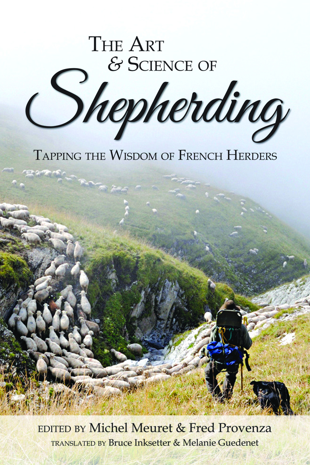 Michel and Fred's book. It's both a practical guide to the concepts of shepherding and also a valuable resource about the science of grazing.