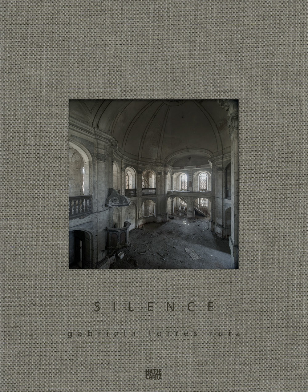 Silence,Gabriela Torres Ruiz - Text von Timothy PersonsDeutsch, Englisch, Spanisch112 Seiten, 88 Abb., Leinen, 23,00 x 29,00 cmHatje Cantz VerlagISBN 978-3-7757-4318-1If you would like to purchase a signed book, just send me an email. The cost is 40€ plus shipping.gabrielatorresr@online.de