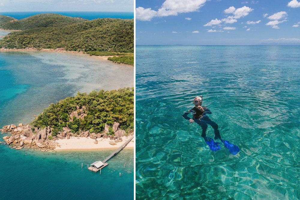 Orpheus Island, Great Barrier Reef, Lifestyle Traveller, Emma Byrnes, Peter Barrett, Snorkelling Australia, Snorkel, Orpheus, Travel with kids