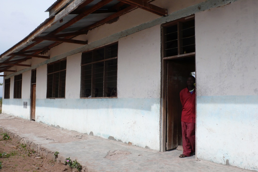 Mwaniko Secondary before and after.