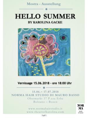 Artist On The Radio The Art Of Karolina Gacke