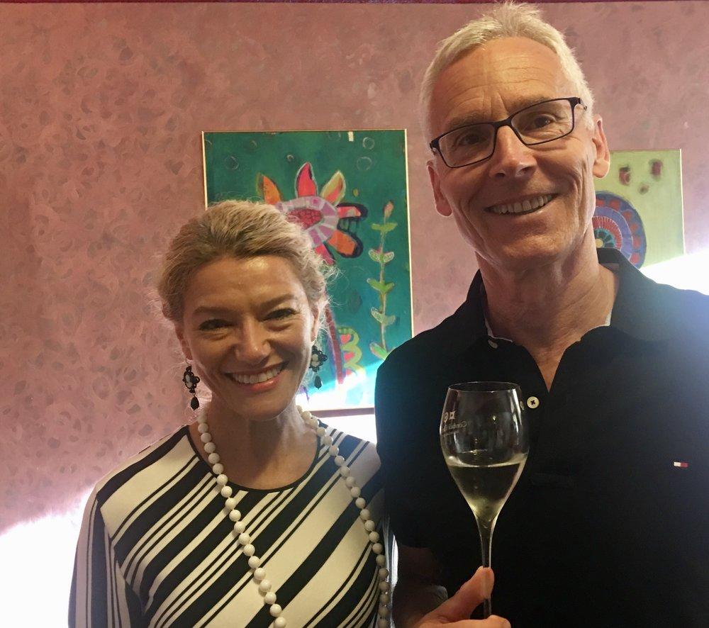 Barbara Cuscina, Harald Tschörner