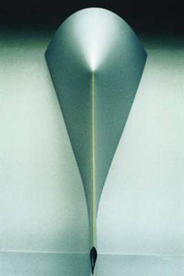 THE GREEN RAY OF SUNSHINE 1996 paper sculpture