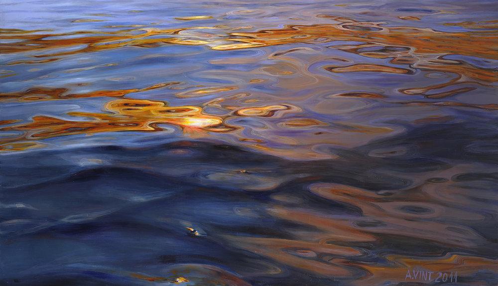 35  Sunset Flash 2011 oil on canvas 110 x 191 cm päikesesähvatus.jpg
