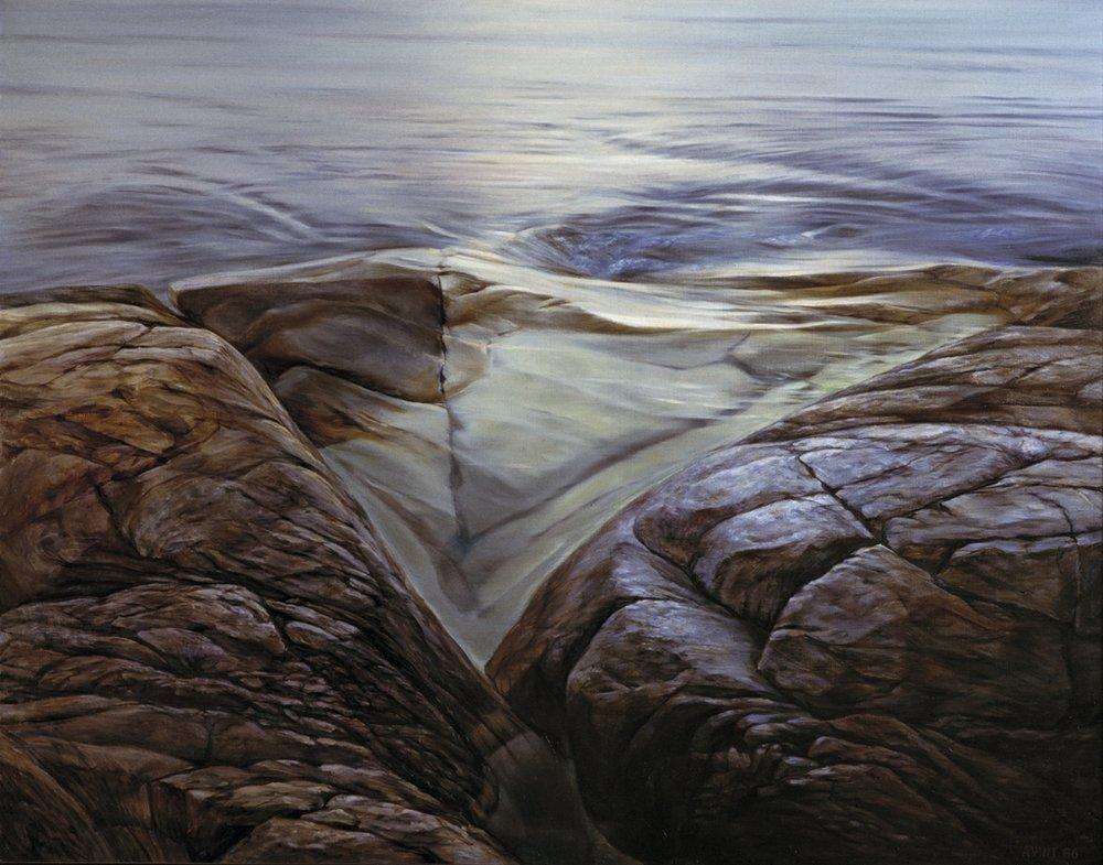 29  On the Island of Tütarsaare   1986 oil on canvas 115 x 145 cm Tretjakov Gallery .jpg