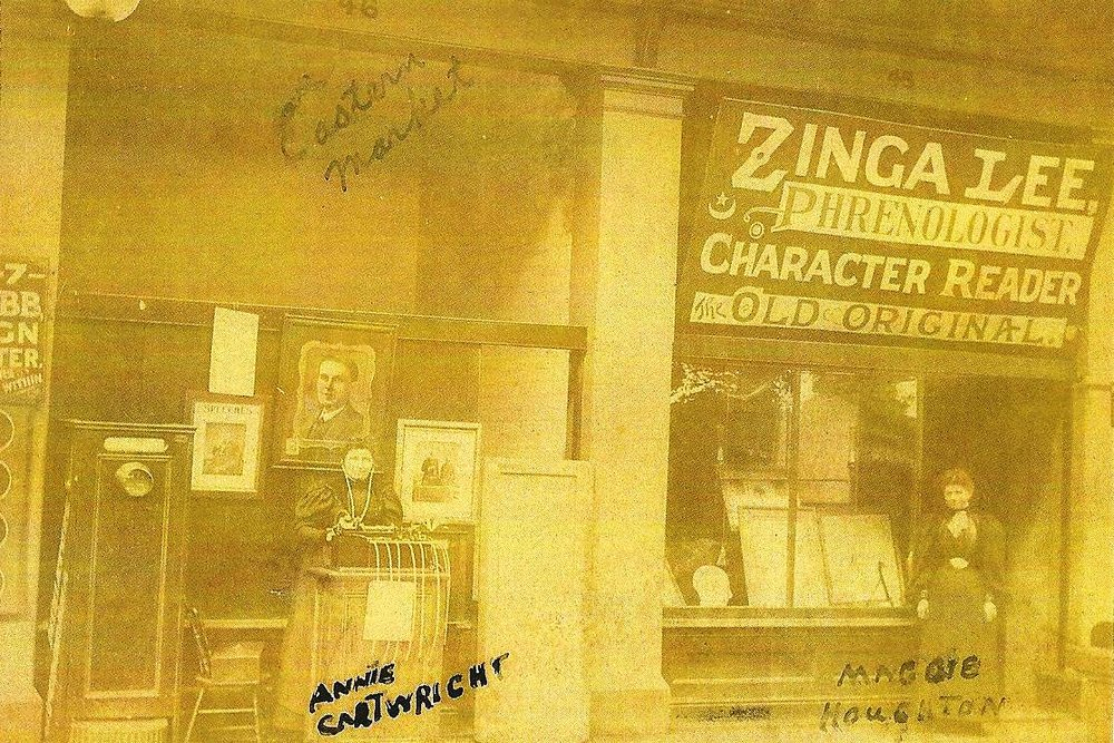 Annie Cartwright, the 'Old Original' Madam Zinga Lee at the Eastern Market