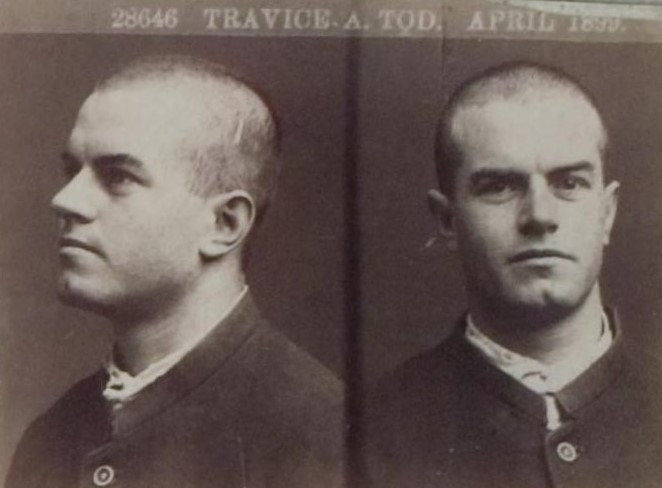 Travice Alexander Tod's Mugshot