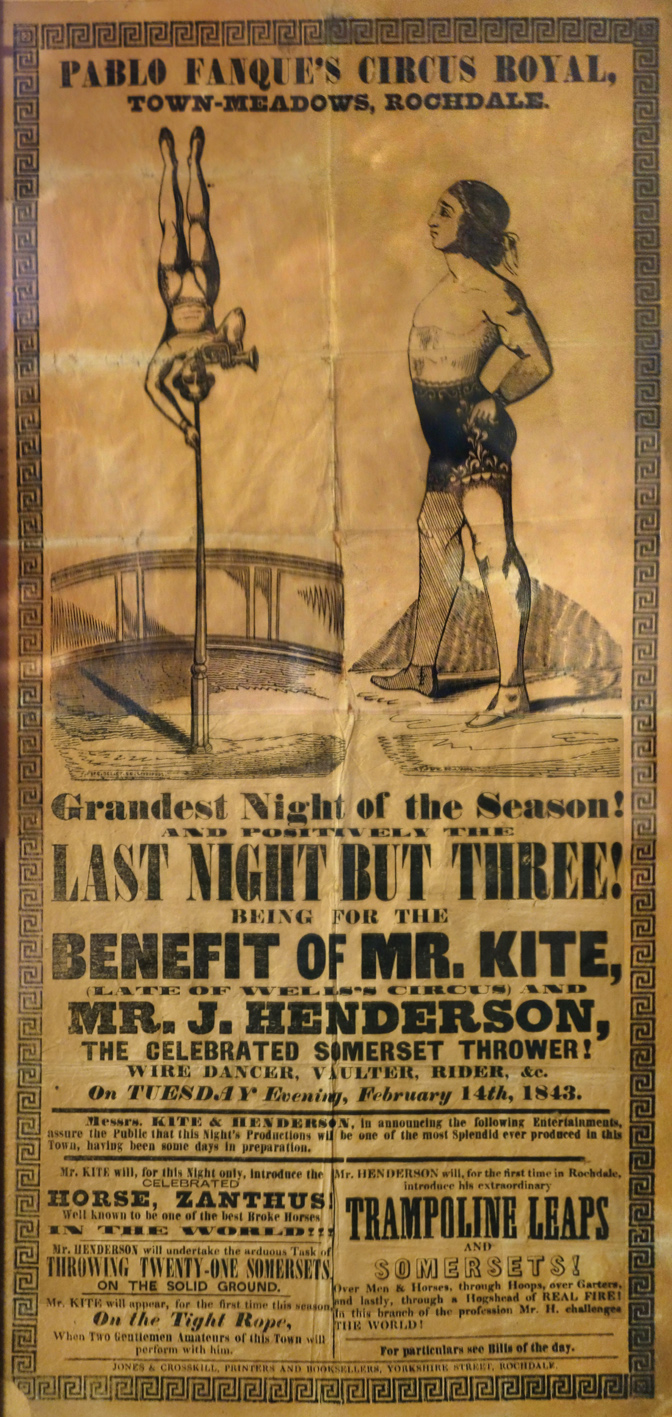 Pablo Fanque's circus benefit advertisement bought by John Lennon