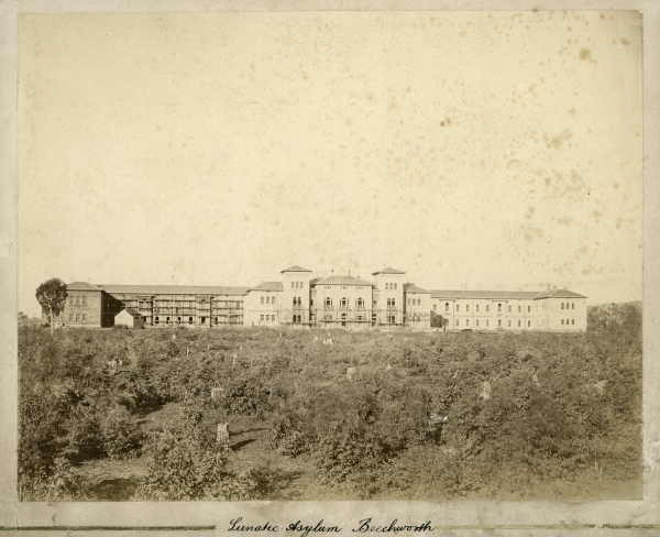 Beechworth Asylum - circa 1867