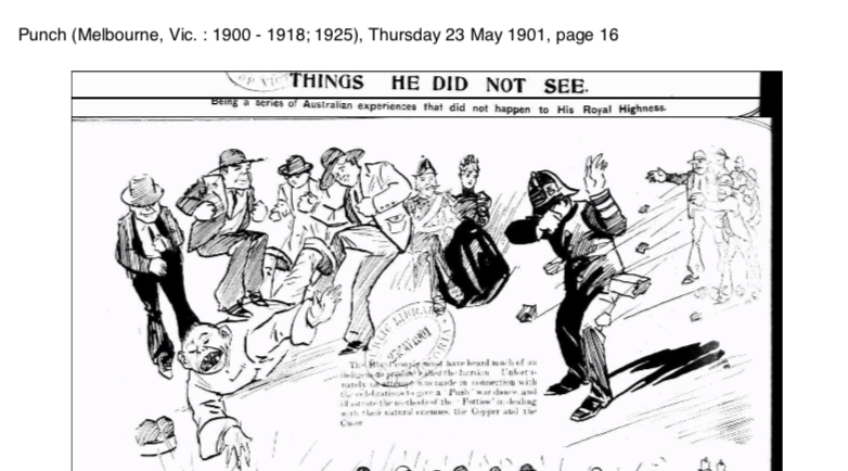 Extract from Extract from Punch