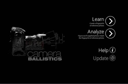 Camera Ballistics — MOBILedit