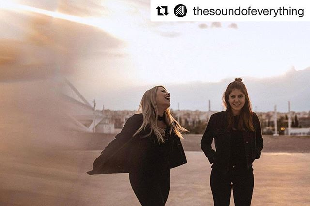 """PREMIERS AT 1PM  #Repost @thesoundofeverything ・・・ Click by @marizacaps . . .  TODAY! on Valentine's Day😉❣️the amazing female duo @projectuncut are spreading love through their music.bListen to their second single """"Don't Come To Harm"""" exclusively on YouTube (premieres at 1pm) . . . . . #projectuncut #dontcometoharm #new #single #2019 #pop #electronicpop #duo #singersongwriter #athens #greece #youtube #premiere #exclusive #playlist #stvalentinesday"""