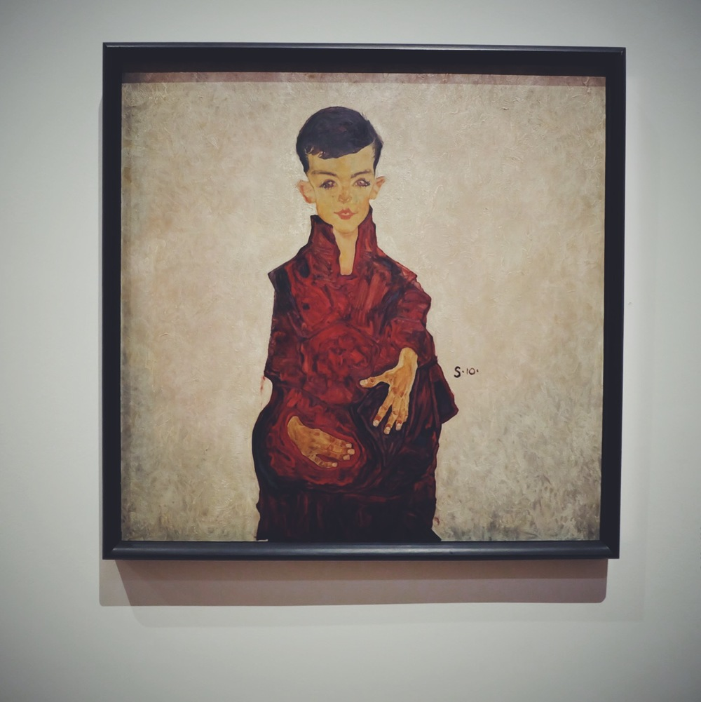 Egon Schiele: Portrait of a Boy (1910)