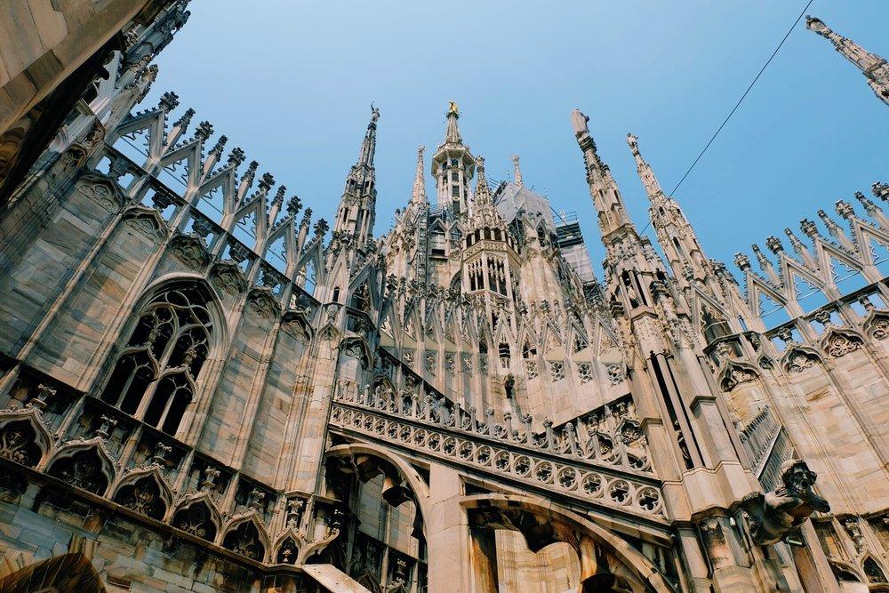 Duomo di Milano roof terrace