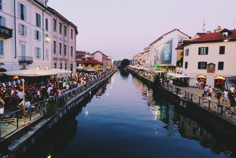 Navigli District!