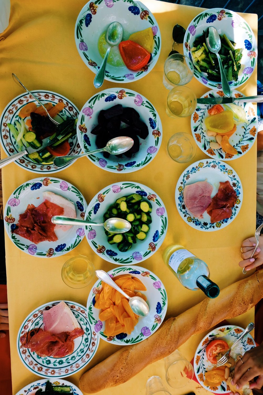 Starting courses at Locanda Dell'Isola Comanica  restaurant