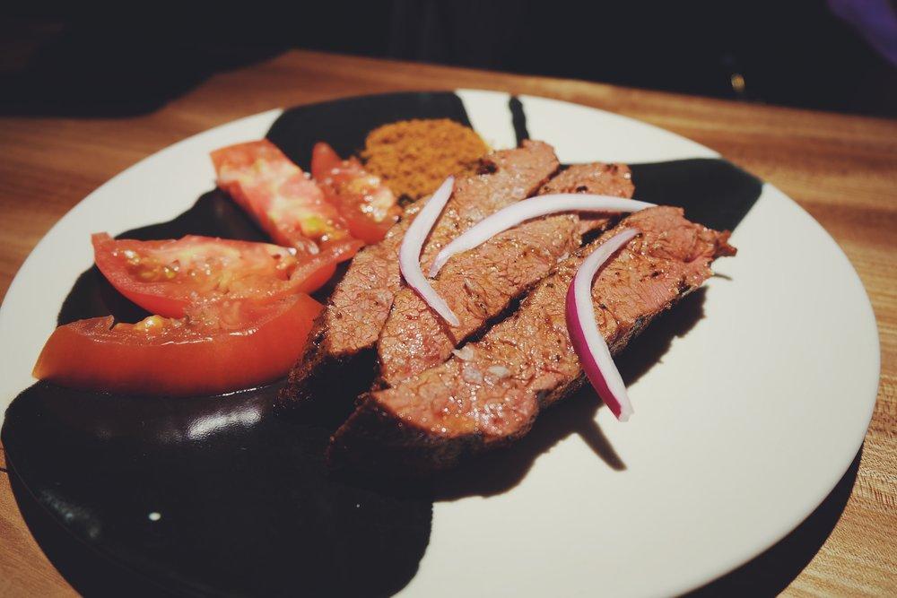 Beef Blade & Suya (£22)