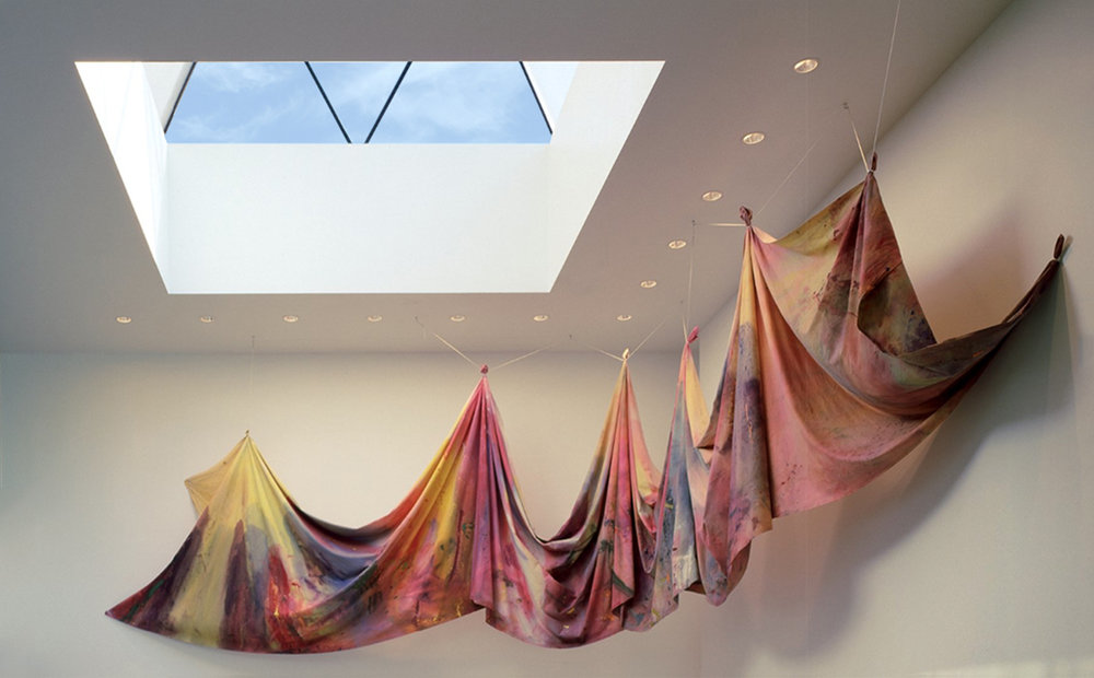 Sam Gilliam, Carousel, 1979  Courtesy of Walker Art Center