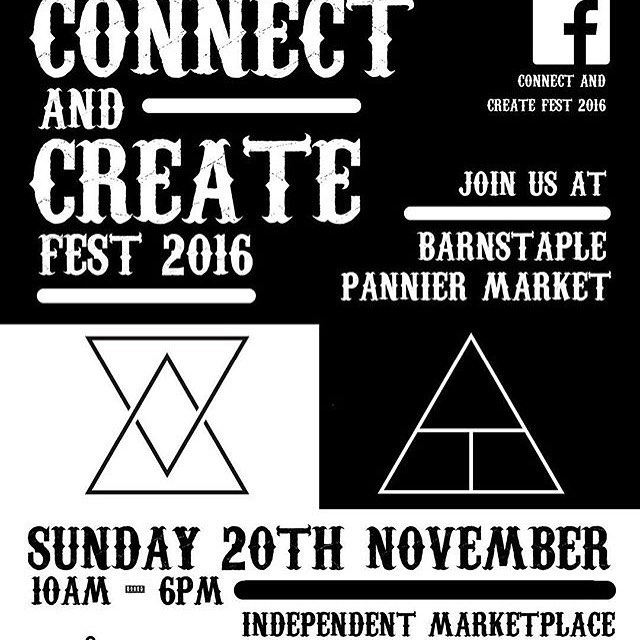 See you @connectandcreatefest  tomorrow in Barnstaple for some delicious veggie + vegan treats.... lots of local foodies and creative stalls too. Best start your Christmas shopping too!  #shoplocal #noblackfriday #food #vegan #veggie #eat #craft #northdevon #devonfood #eatgreen #shopping #create #connect
