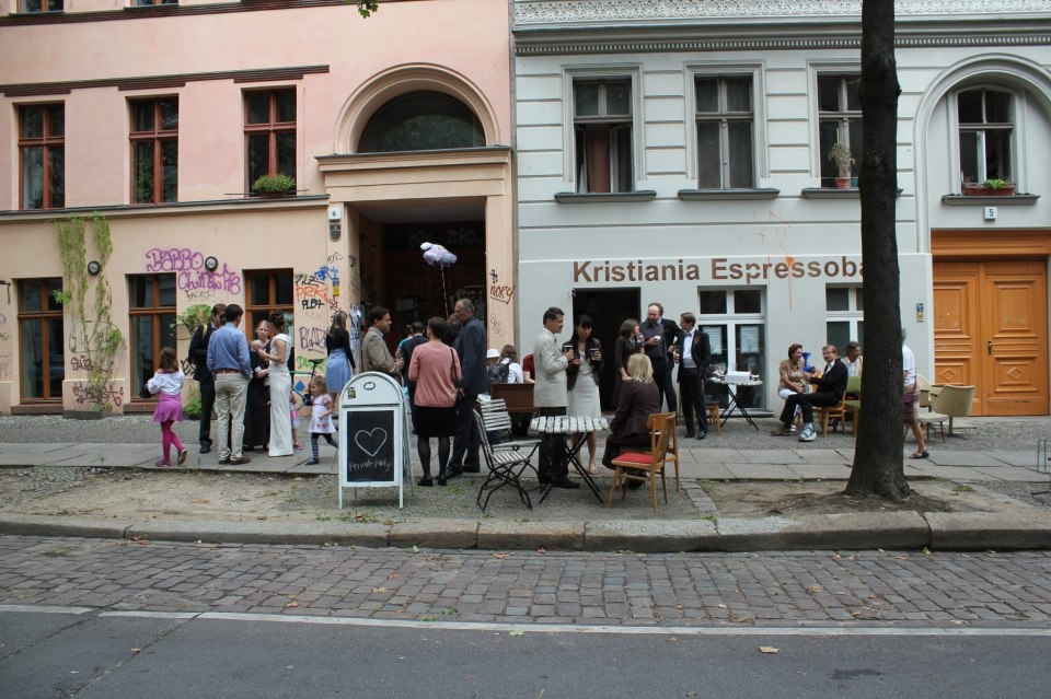 The last party at Kristiania Espressobar, the place it all started