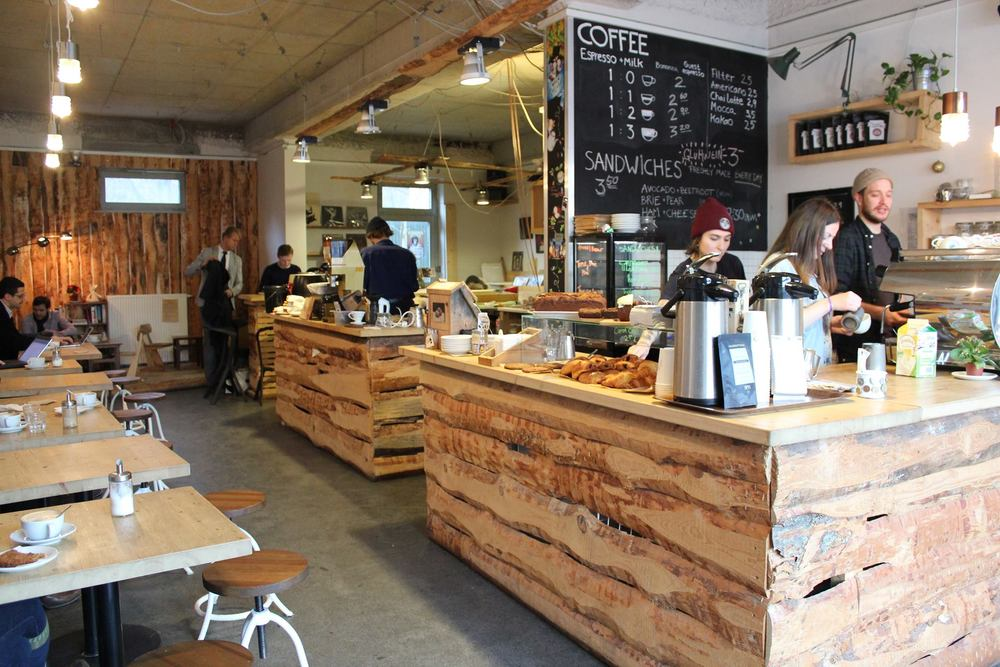 Norwegian Wood Oslo kaffebar
