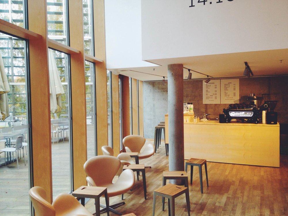 Den nye kaffebaren på de nordiske ambassadene i berlin