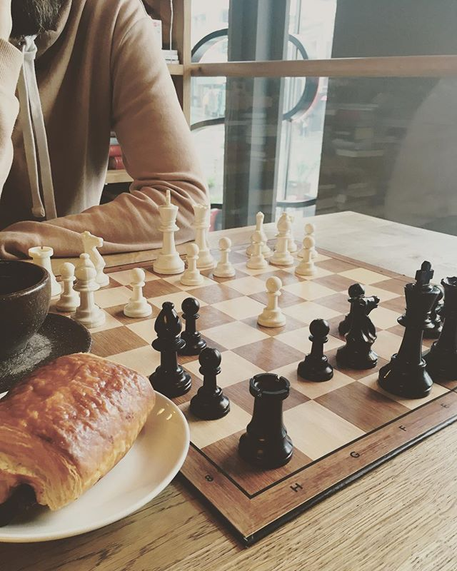 Games you can play and chocolate croissants you can eat🖤