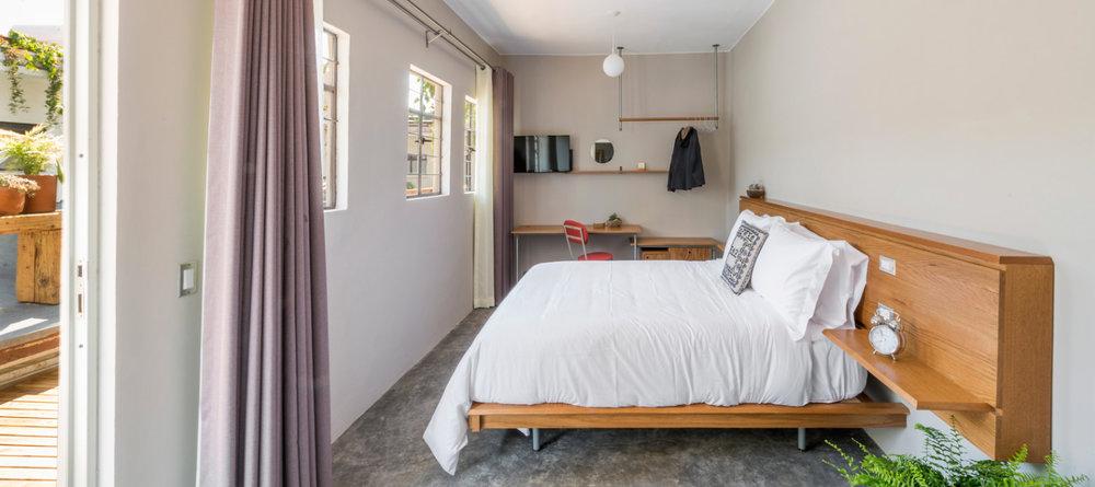 6 chambres (toutes uniques) disponibles garanties dans cet hotel boutique (pour les 6 premières réservations)
