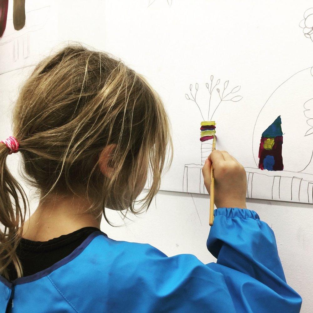 Ateliers pour enfants et anniversaires
