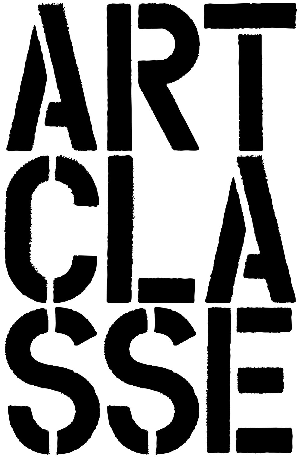 Logo inspiration: Christopher Wool
