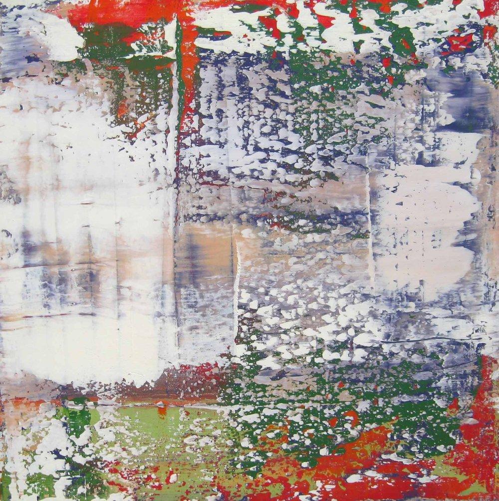 Œuvre originale de l'artiste allemand Gerhard Richter
