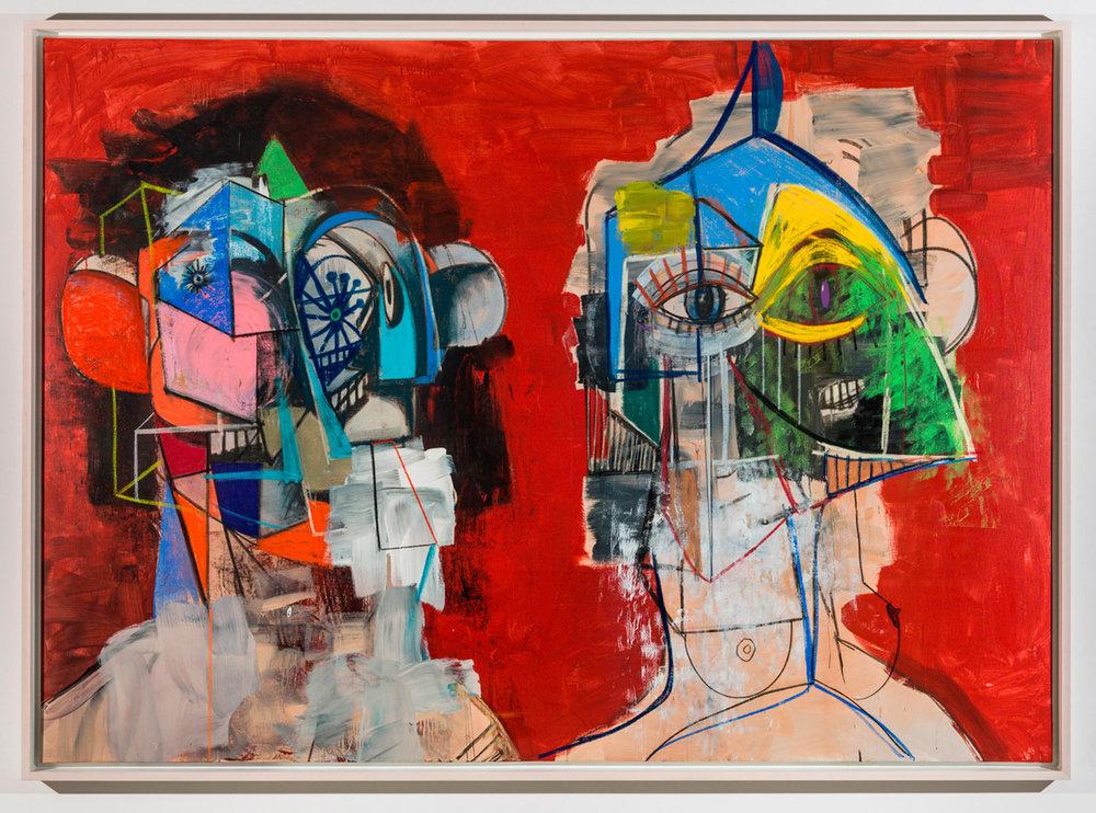 Œuvre originale de l'artiste américain George Condo