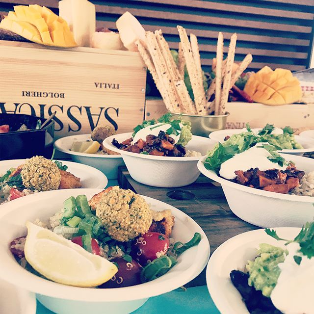 Our deluxe grazing table • quinoa tabouleh with hummus and falafel • Smokey black bean and sweet potato Mexican bowls with guacamole and brown rice • just to mention a few things on the menu • BOOK YOUR EVENT for personalized menus and delicious food! #nourishedbyotillie #platters #grazing #livinginluzern #cateringswitzerland #luzernisst