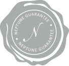 NEPTUNE GUARANTEE - WE MAKE SURE TO USE THE BEST MATERIALS AND FINEST SERVICE TO MEET OUR OFFICIAL NEPTUNE ACCREDITATION