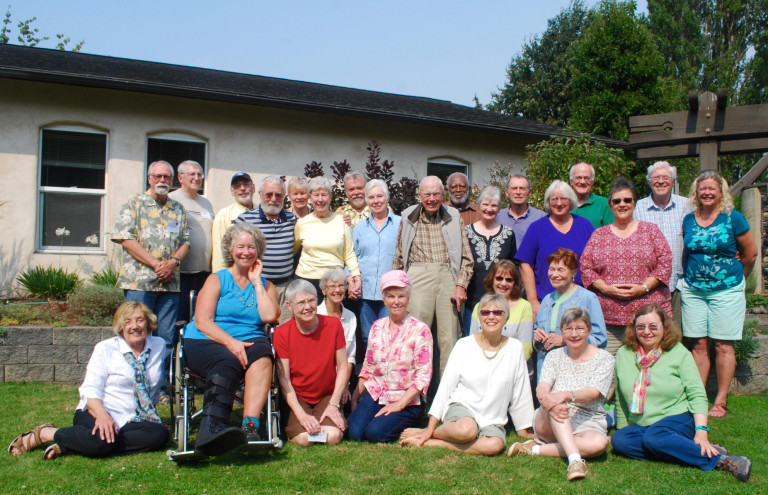 Quimper Village Senior Cohousing Community is successful, in part because the group proactively reached out to their community, sharing the book and the wisdom that came from them reading it.
