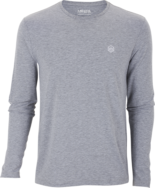 Heather grey LS