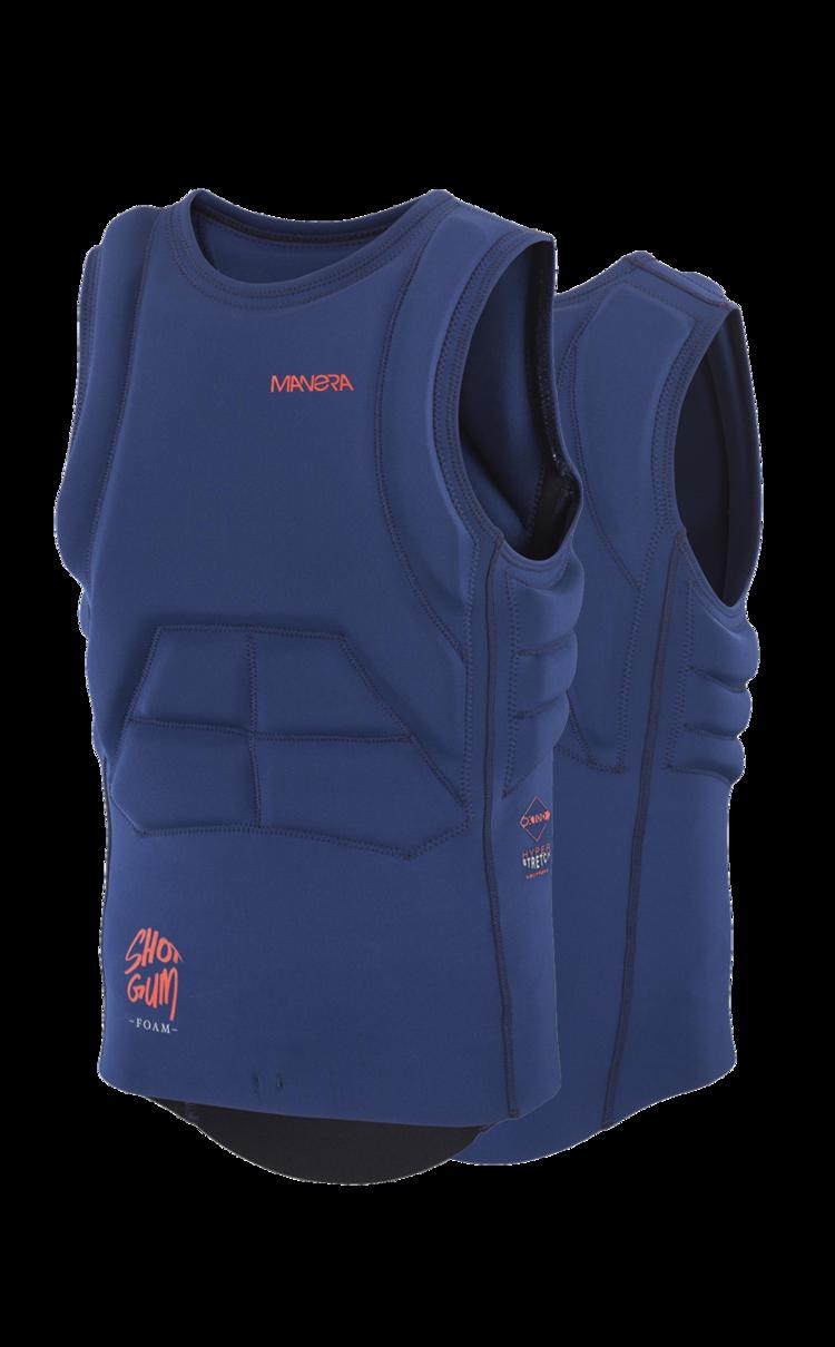 Chaleco antiimpactos MANERA IMPACT VEST X10D 2017 Black Ink blue