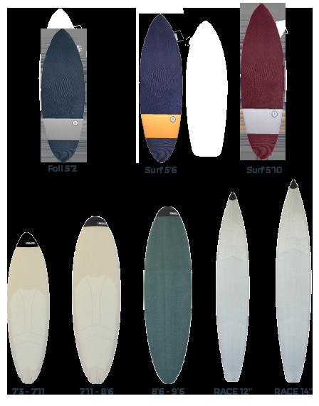 Fundas SURF de calcetín MANERA 2017