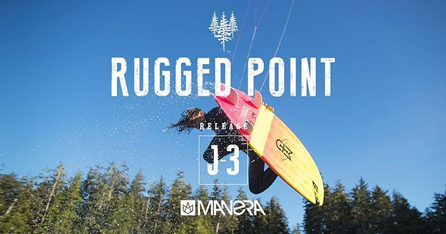 """""""Our mind still shivers at the memory of these sessions""""  RUGGED POINT movie is coming out in 3 days.  Riders: @valesapauline @davidtonijuan @paulserin @camille_delannoy @etienne.lhote  Video: @petolefilms  Photo: @robinchristol  #manerawatermen #staysalty #ruggedpoint #britishcolumbia"""