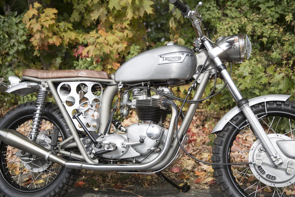 Vintage Steele, 1971 Triumph Tiger