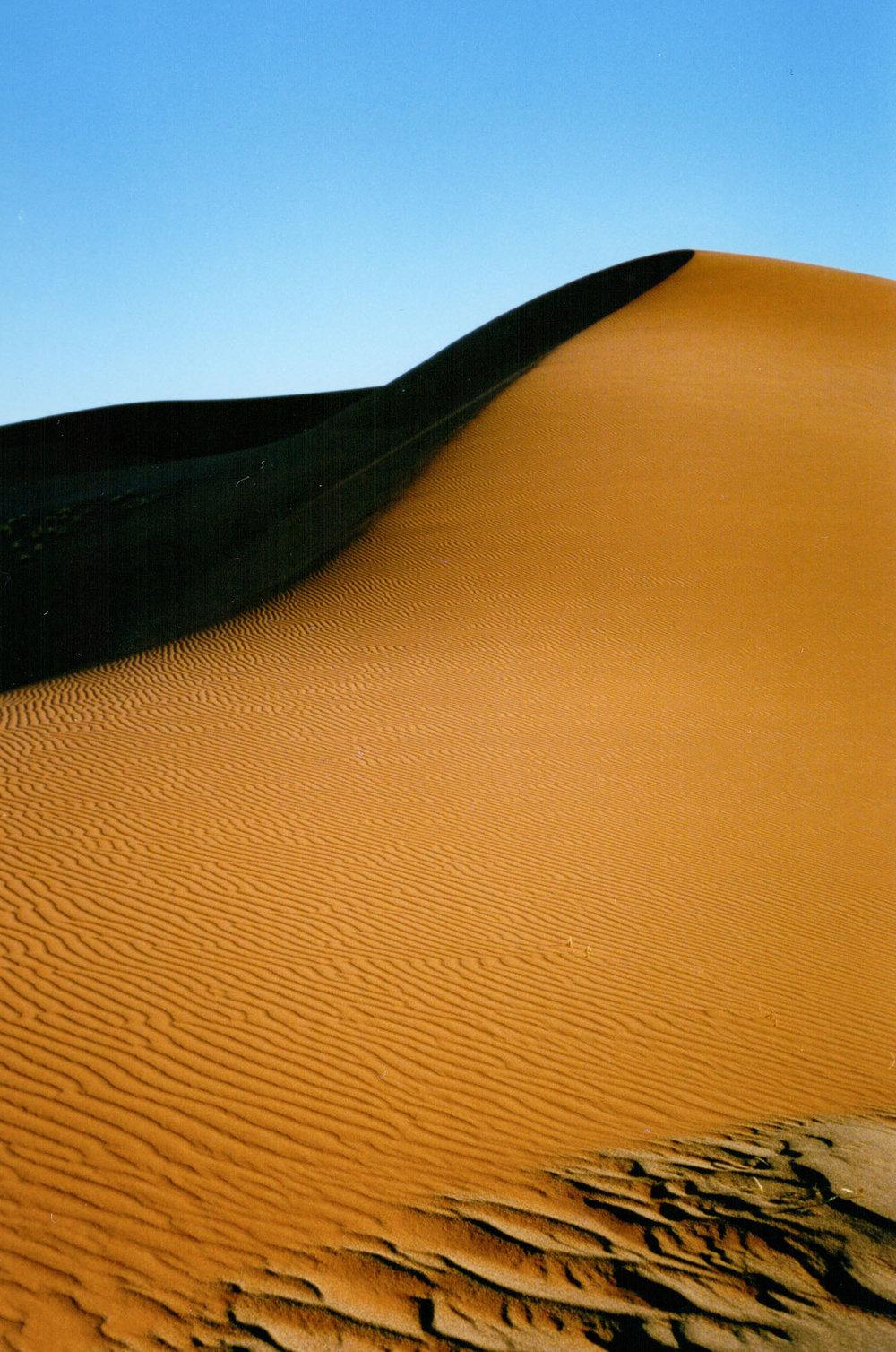 """Sossusvlei Dunes"" Namibia"