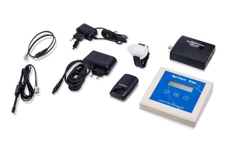 Epi-Care free kan lede alarmkaldet til en personsøger, eller en telefon. Epi-Care kan alarmer over det meste GSM-baserede kommunikationsudstyr. Kontakt Danish Care Technology, og spørg os om jeres udstyr kan benyttes.