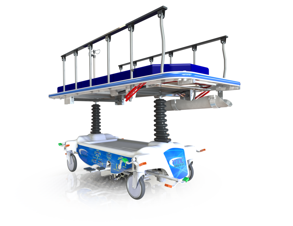 5th Wheel Transport Stretcher (PTF-1000)