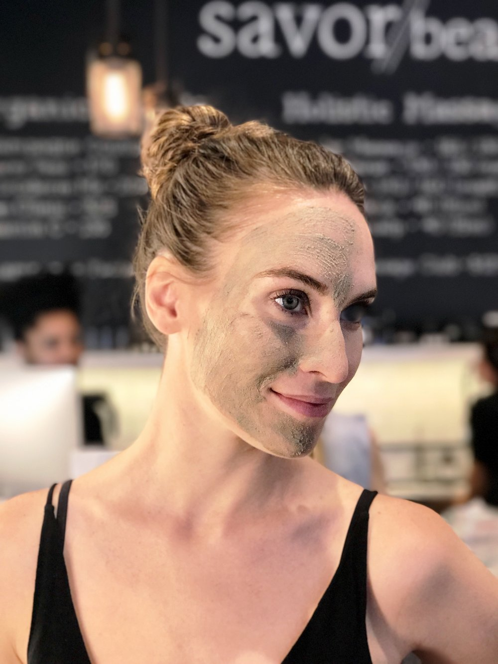 Erin helped formulate #facecakemask